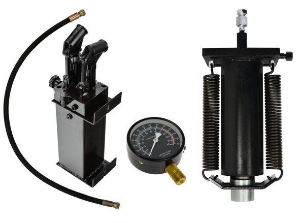 К-кт двускоростна помпа, цилиндър и манометър за хидравлична преса 50Т