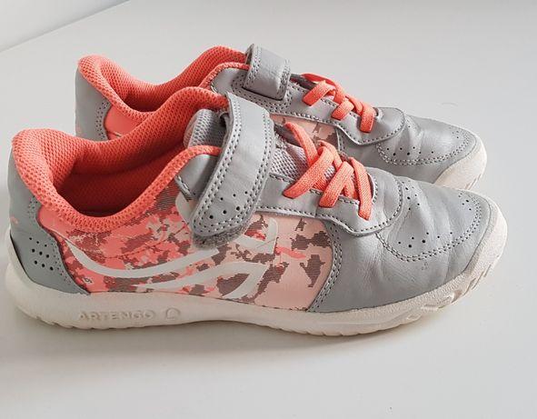 Pantofi sport fete - Artengo, multicolor, banda arici, 36