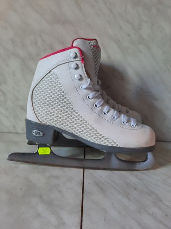 Patine gheata profesionale 36 patinaj artistic Riedell marime 35