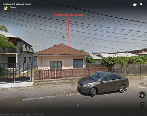 Casă, teren Dumbraveni, centru, la stradă: magazin / cabinet / locuit