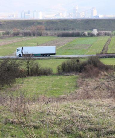 Teren intravilan lângă E60, Lugaşu de Jos, 30 km de Oradea