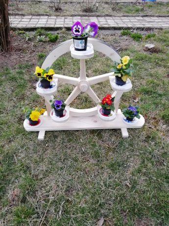 Suporti de flori pentru curte
