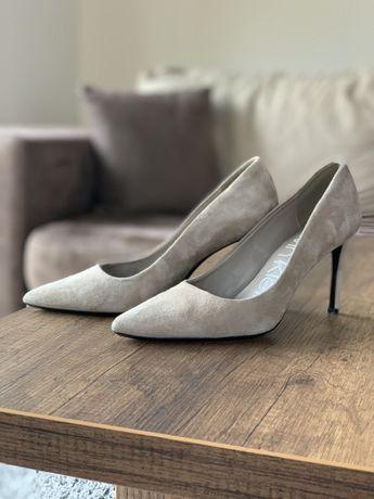 Дамски обувки на висок ток Calvin Klein