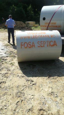 Vindem si montam fose septice ecologice