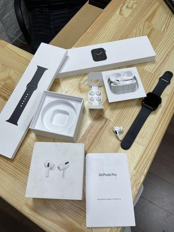Apple watch se, airpods pro
