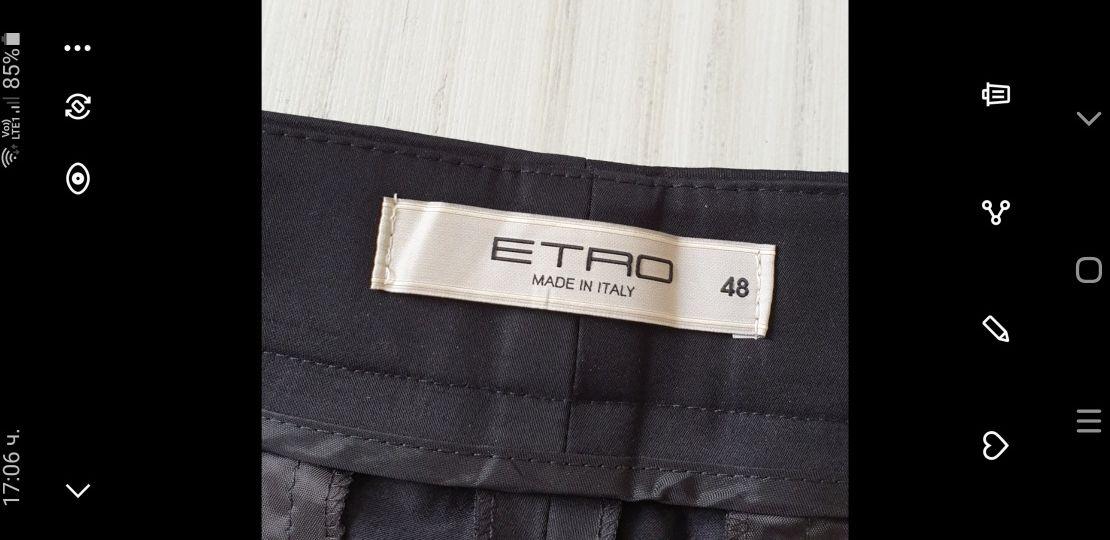 ETRO Milano Cotton Stretch Made in Italy Womens Size 48 НОВО! ОРИГИНАЛ