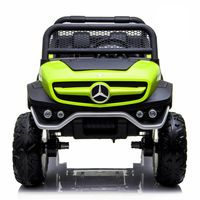 Masinuta Electrica Kinderauto Mercedes UNIMOG 4x4 PREMIUM #Verde