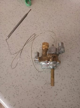 Кран газовый с термостатом indesit