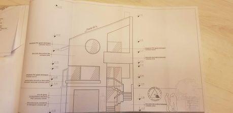 Vând proiect casa complet pentru autorizatie