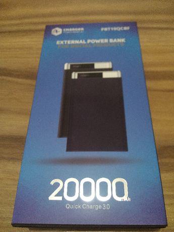 Външна батерия A+, Power Bank 20000 mAh