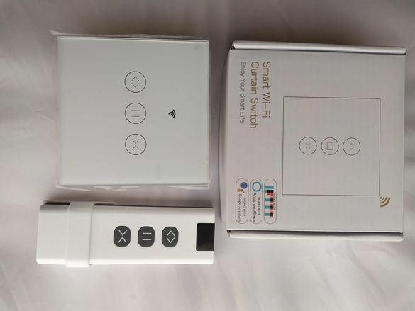 Дистанционен модул ключ за гаражна врата с интернет управление