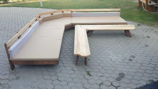 Шезлонг лежак  угловой + столик .  Мебель для бассейна зоны отдыха.