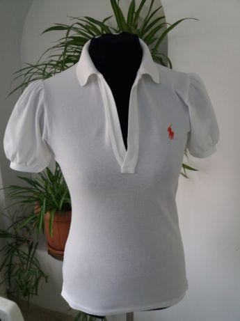 Tricou dama Ralph Lauren - Ralph Lauren Puff Sleeve Polo