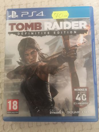 Vând Tomb Raider Definitive Edition pt ps4