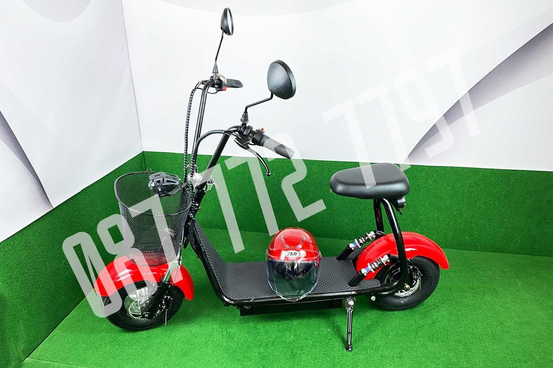 ХИТ ! Електрически скутер Харли 1200W + подаръци, каска и гаранция