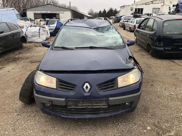Рено Меган / Renault Megane 1.6i 113/ 1.9dci 131кс 2008г. - НА ЧАСТИ