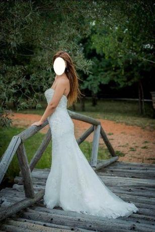 Vand rochie mireasa impecabila purtata doar in ziua nuntii!!