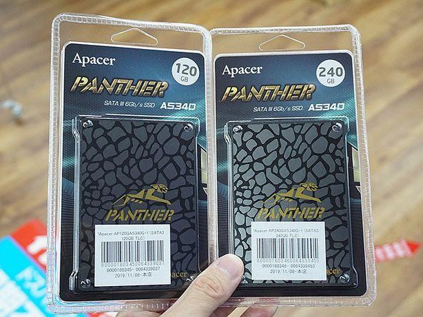 """Новый SSD накопитель 240 Gb Apacer Panther AS340, 2.5"""", SATA III"""