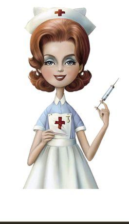Опытная медсестра, легкая рука