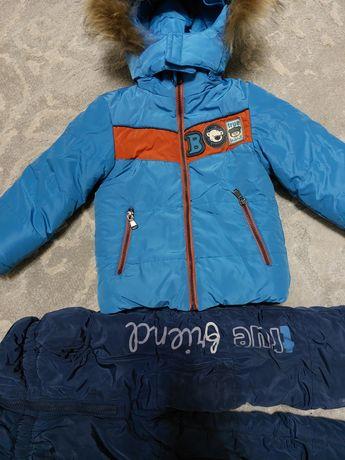 Куртка зимняя теплый