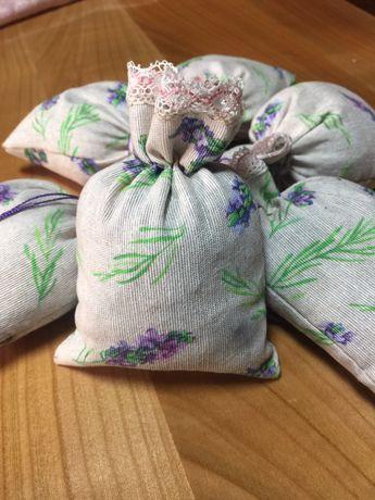 Saculeti umpluți cu floare de lavanda