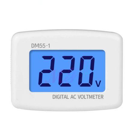 LCD Цифров волтметър AC 80-300V променлив ток