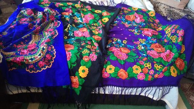 Продам красивые большие украинские платки