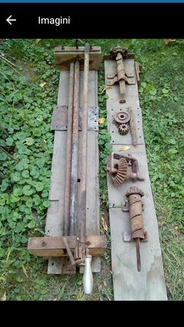 Utilaj vechi pentru confectionat plasa de gard