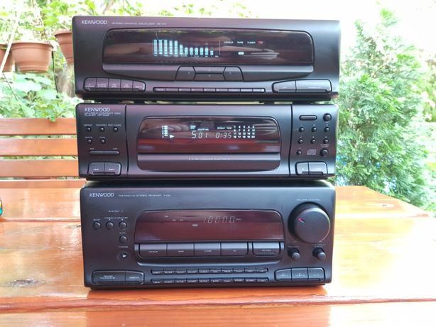 Linie Kenwood A5 Amplificator cu radio, CD player cu 7CD, Egalizator