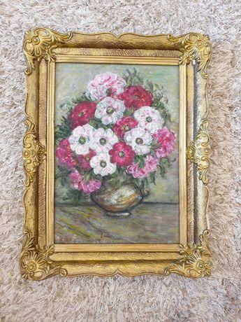Tablou Flori in vaza 4