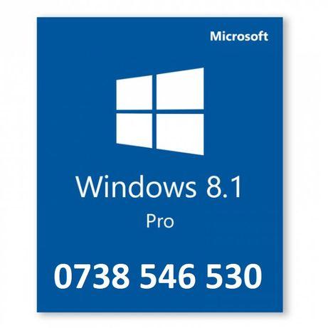 Stick sau DVD nou sigilat Windows 8.1 Pro original cu licenta Retail