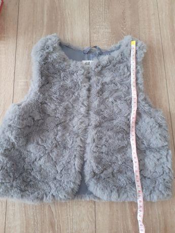 Vestă H&M- blăniță pt fetițe 7-8 ani- marimea 128