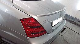 Спойлеры и козыреки на Mercedes Benz S-class W221