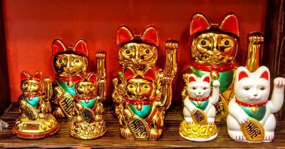 Японска котка за късмет МАНЕКИ НЕКО