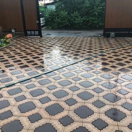Тратуарная плитка и сплитерные блоки