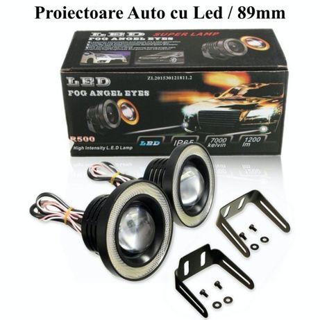 Proiector auto CU LED 10W / 89MM / 3200LM Angel Eyes