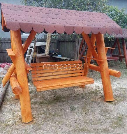Balansoar  lemn  leagan  lemn  masiv