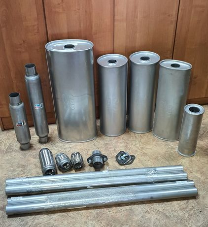 Выхлопные трубы из нержавеющей стали DX52/DX53 Ваз, Газ, Уаз.
