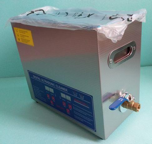 6 литра. НОВА. Идустриална дигитална ултразвукова вана неръждаема