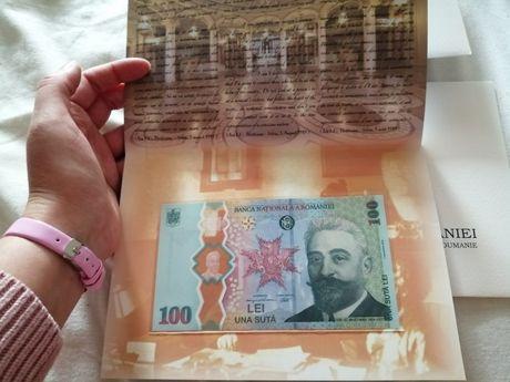 Bancnota BNR Desăvârșirea Marii Uniri - 100 lei - Ion I. C. Brătianu