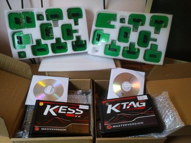 Kess V2.80 Ktag 2.25+Adaptoare BDM Winols 4.26,Dpf,Egr,DTC,Immo17 off