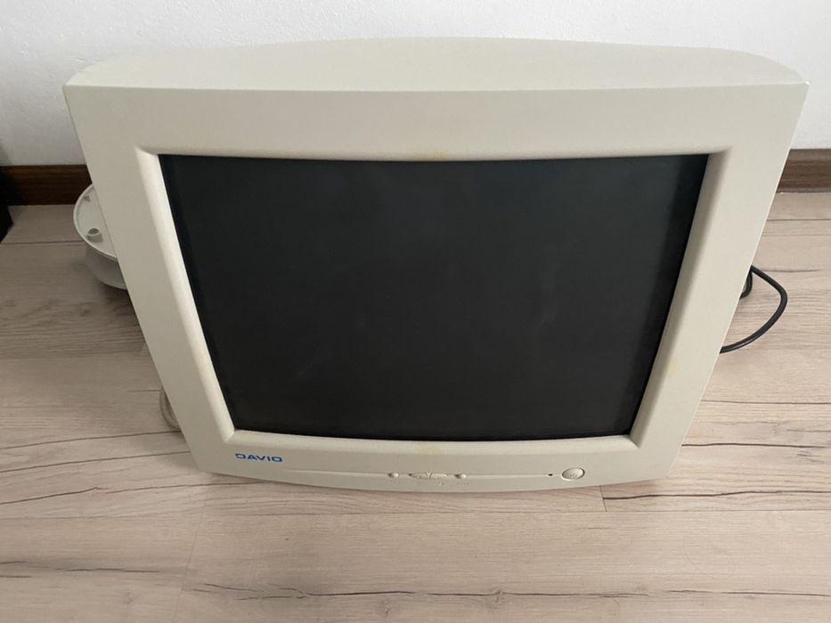 monitor CRT Davio / monitor cu tub Manasia - imagine 1