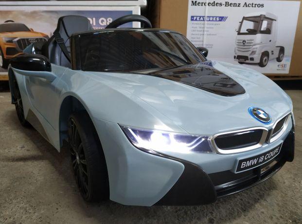 Masinuta electrică pentru copii BMW I8 Coupe 12V 2x20W #Blue