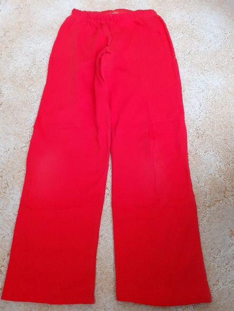 Pantalon bumbac rosu