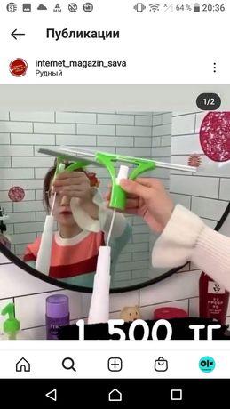 Продам очиститель стекла и зеркал и вешалку