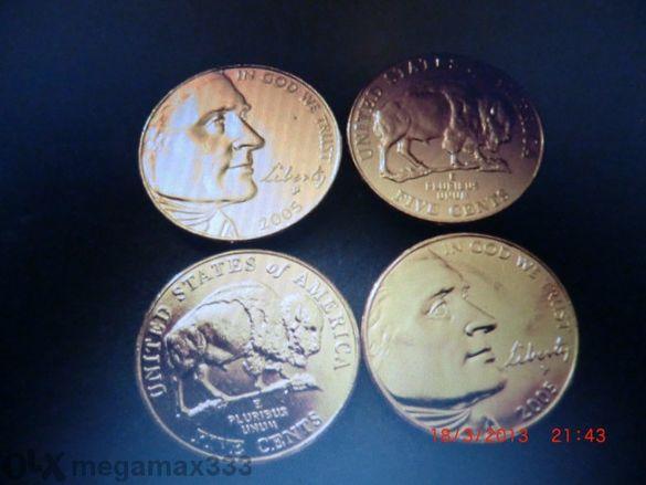 5 US CENT златна вана