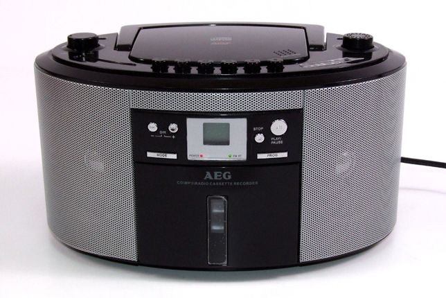 CD - MP3 - Radio - Casetofon Stereo AEG, Made in Germany, ABSOLUT NOU