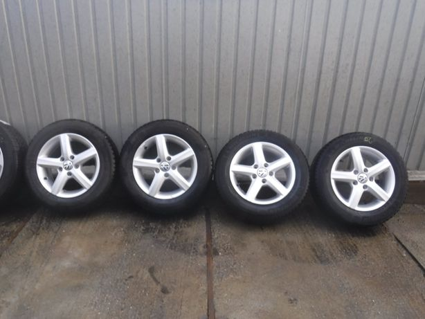 Jante Vw golf 5,6 ,7 Aspen 15 zoll 195 65 15 iarna Michelin alpin A4