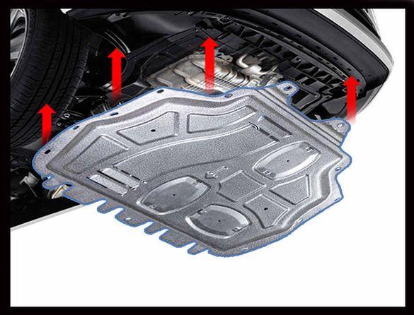 Кора под двигателя VW PASSAT B6 2005г - 2011г бензин 6 цилиндъра