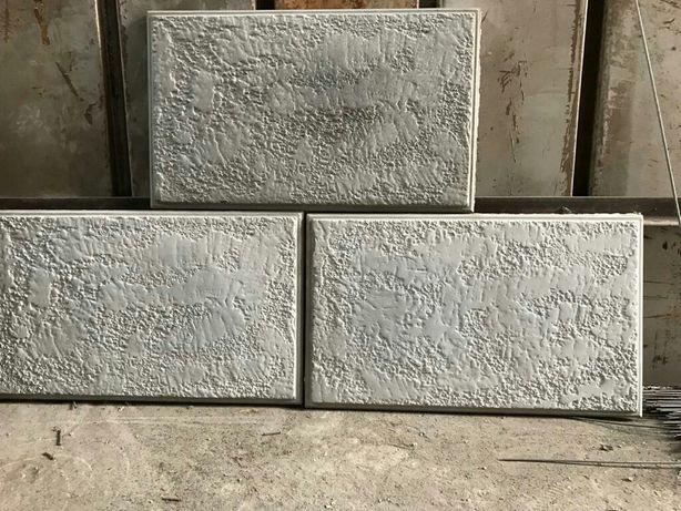 Травертин ( имитация ) бетонные панели плитки облицовочная фасадная